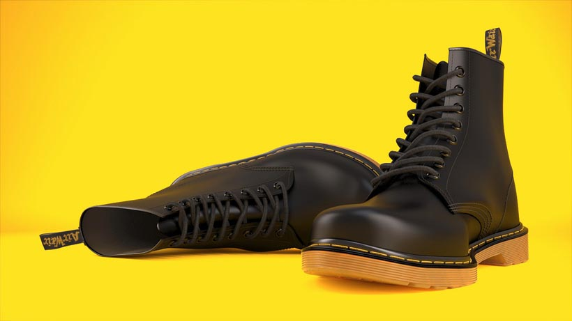 Dr Martens 3D Product Visualisation