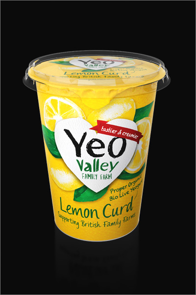 Yeo Valley 3D Dairy Packaging CGI