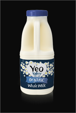 Yeo Valley 3D Milk Packaging Visualisation