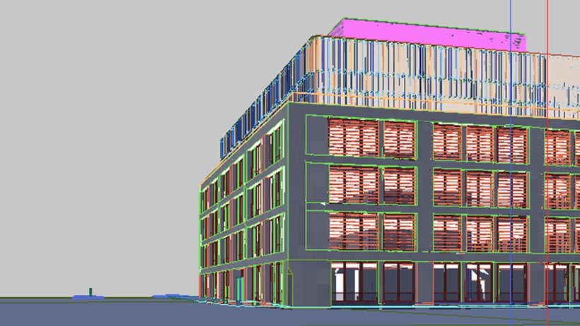 York Way 3D Architectural Planning Application Model